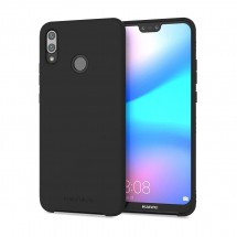 Кейс MakeFuture Silicone Huawei P20 Lite Black