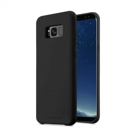 Кейс MakeFuture Silicone Samsung S8 Black