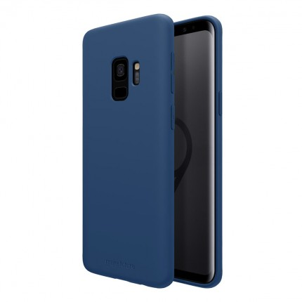 Кейс MakeFuture Silicone Samsung S9 Plus Blue