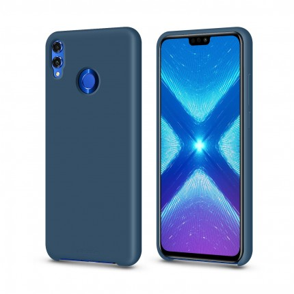 Кейс MakeFuture Silicone Honor 8X Blue