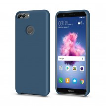 Кейс MakeFuture Silicone Huawei P Smart Blue