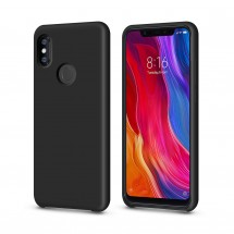 Кейс MakeFuture Silicone Xiaomi Mi8 Black