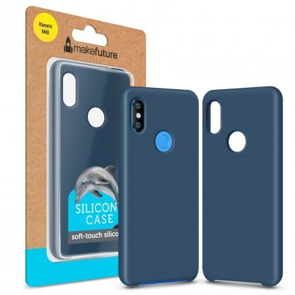 Кейс MakeFuture Silicone Xiaomi Mi8 Blue