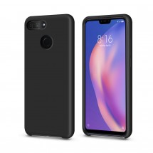Кейс MakeFuture Xiaomi Mi8 Lite Silicone Black
