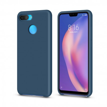 Кейс MakeFuture Xiaomi Mi8 Lite Silicone Blue