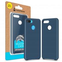 Кейс MakeFuture Silicone Xiaomi Mi8 Lite Blue