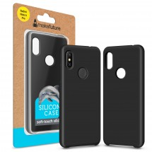 Кейс MakeFuture Silicone Xiaomi Redmi Note 6 Pro Black
