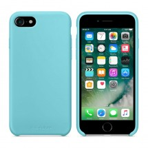 Кейс MakeFuture Silicone Apple iPhone 7 Light Blue
