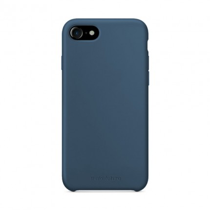 Кейс MakeFuture Silicone Apple iPhone 8 Blue