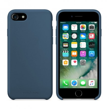 Кейс MakeFuture Silicone Apple iPhone 7 Blue