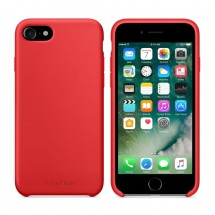 Кейс MakeFuture Silicone Apple iPhone 7 Red