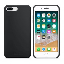Кейс MakeFuture Silicone Apple iPhone 8 Plus Black