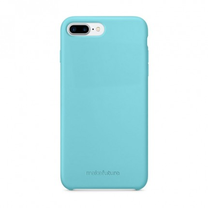 Кейс MakeFuture Silicone Apple iPhone 8 Plus Light Blue