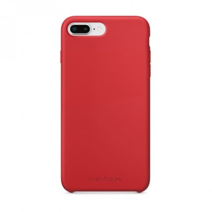 Кейс MakeFuture Silicone Apple iPhone 8 Plus Red