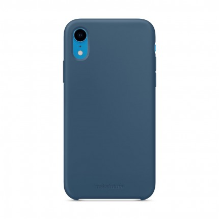 Кейс MakeFuture Silicone Apple iPhone XR Blue