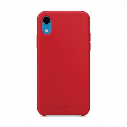 Кейс MakeFuture Silicone Apple iPhone XR Red