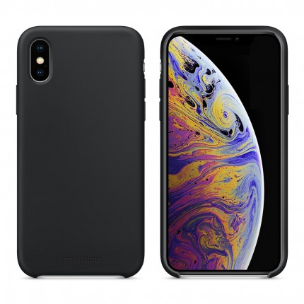 Кейс MakeFuture Silicone Apple iPhone XS Black