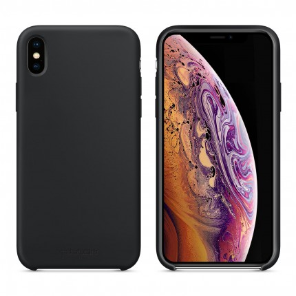 Кейс MakeFuture Silicone Apple iPhone XS Max Black