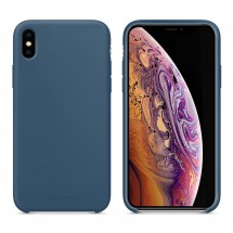 Кейс MakeFuture Silicone Apple iPhone XS Max Blue