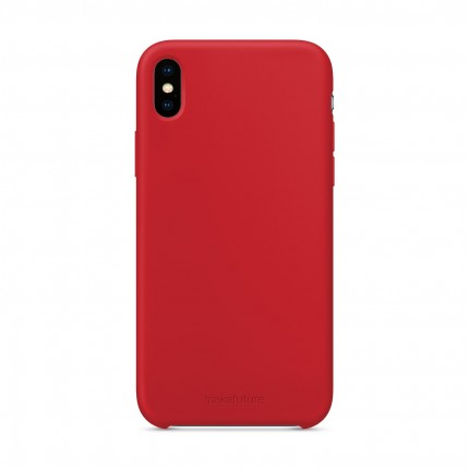 Кейс MakeFuture Silicone Apple iPhone XS Max Red