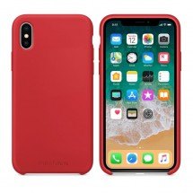 Кейс MakeFuture Silicone Apple iPhone X Red