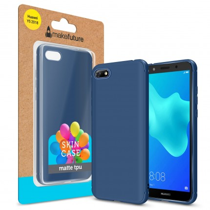 Кейс MakeFuture Skin Huawei Y5 2018 Blue