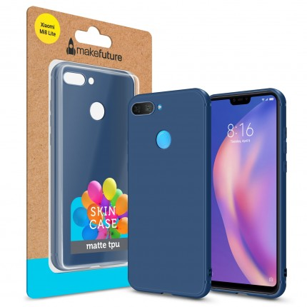 Кейс MakeFuture Skin Xiaomi Mi8 Lite Blue