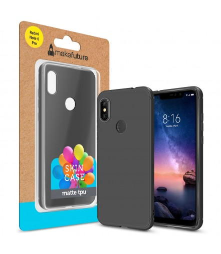 Кейс MakeFuture Xiaomi Redmi Note 6 Pro Skin Black