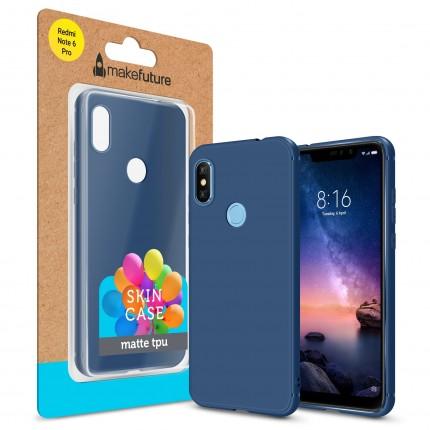 Кейс MakeFuture Skin Xiaomi Redmi Note 6 Pro Blue