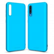 Кейс MakeFuture Samsung A50 (A505) Skin Light Blue