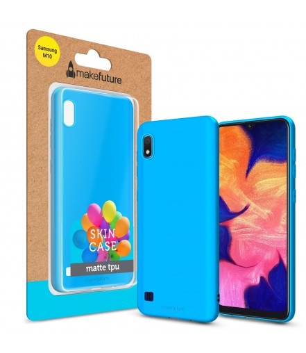 Кейс MakeFuture Skin Samsung M10 (M105) Light Blue