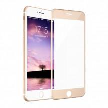 Захисне дзеркальне скло MakeFuture Apple iPhone 6/6S Gold