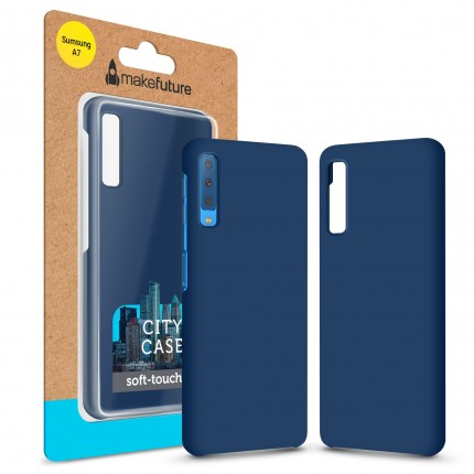 Кейс MakeFuture City Samsung A7 2018 (A750) Blue