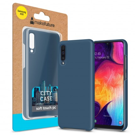 Кейс MakeFuture City Samsung A50 (A505) Blue