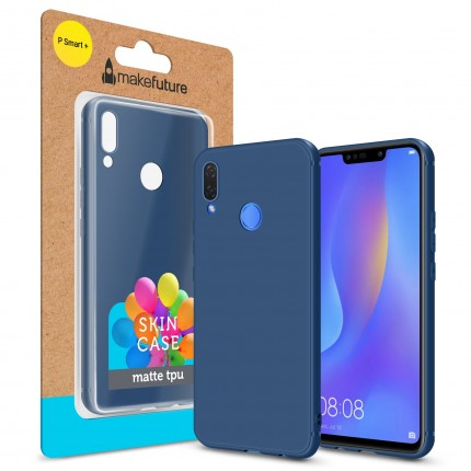 Кейс MakeFuture Skin Huawei P Smart Plus Blue