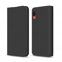 Чохол-книжка MakeFuture Samsung A02 Flip Case Black