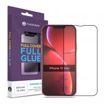 Захисне скло MakeFuture Apple iPhone 13 mini Full Cover Full Glue