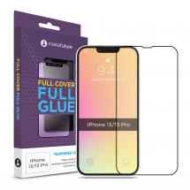 Захисне скло MakeFuture Apple iPhone 13/13 Pro Full Cover Full Glue