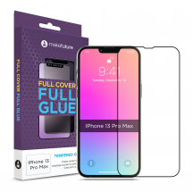 Захисне скло MakeFuture Apple iPhone 13 Pro Max Full Cover Full Glue