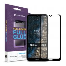 Захисне скло MakeFuture Nokia C20 Full Cover Full Glue