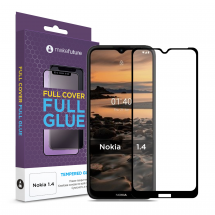 Захисне скло MakeFuture Nokia 1.4 Full Cover Full Glue
