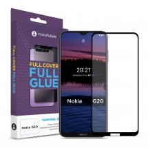 Захисне скло MakeFuture Nokia G20 Full Cover Full Glue