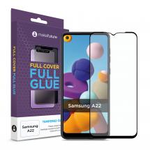 Захисне скло MakeFuture Samsung A22 4G Full Cover Full Glue