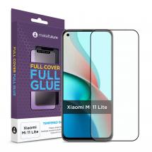 Захисне скло MakeFuture Xiaomi Mi 11 Lite Full Cover Full Glue